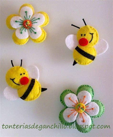 Weihnachtsdeko Mit Kindern Basteln 3662 moldes para hacer abejas de fieltro04 dekorasyon