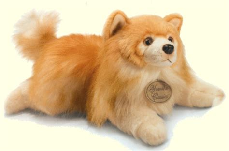pomeranian stuffed animal pomeranian stuffed animal