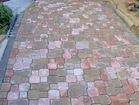 16x16 Patio Pavers Lowes Shop Weathered Brickface Harvest Lowes Pavers For Patio