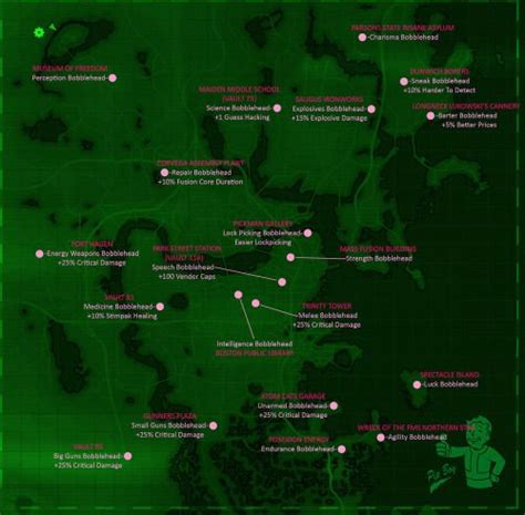 20 bobblehead fallout 4 fallout 4 bobblehead locations this picture contains the