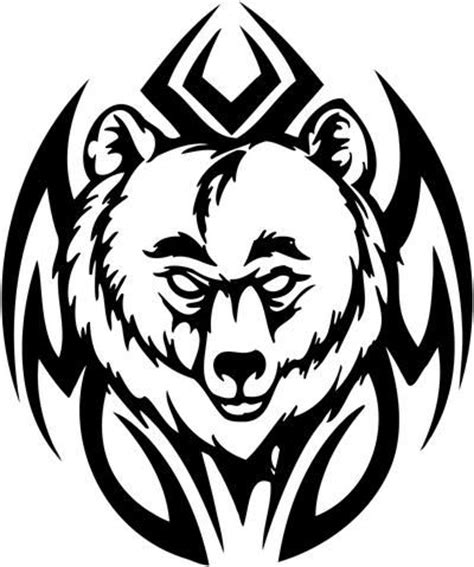 tribal grizzly bear tattoos best 25 tribal ideas on wolf paw