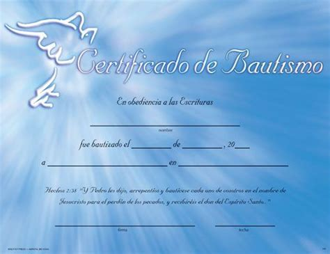 christian baptism certificates blank printable baptism