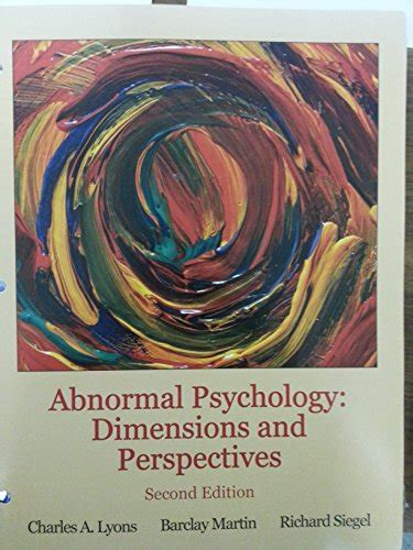 psychology perspectives and connections looseleaf books abnormal psychology dimensions and perspectives