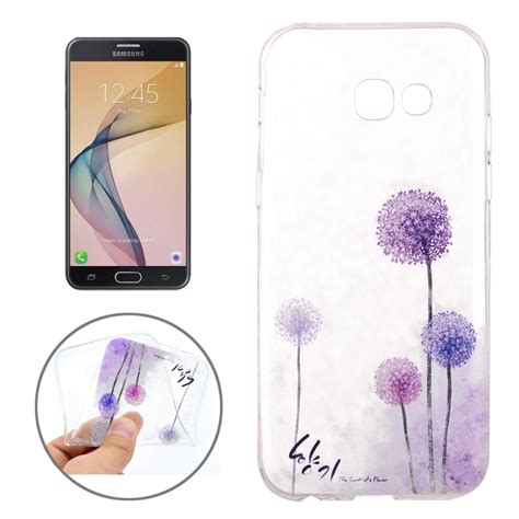 Soft Samsung Galaxy J7 Prime for samsung galaxy j7 2017 j7 prime dandelion pattern