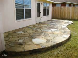 Old Concrete Patio Ideas by Glennscape Portfolio