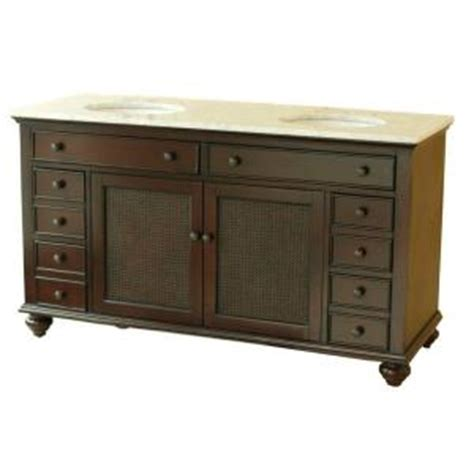 pegasus bimini 60 in basin vanity cabinet in