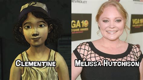 voice actress dead characters and voice actors the walking dead game season