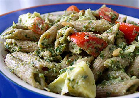 fat free vegan pasta salad recipe artichoke pesto pasta salad recipe from fatfree vegan