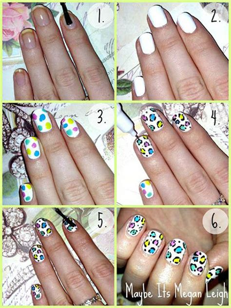 easy nail art spring easy simple spring nail art tutorials 2014 for beginners