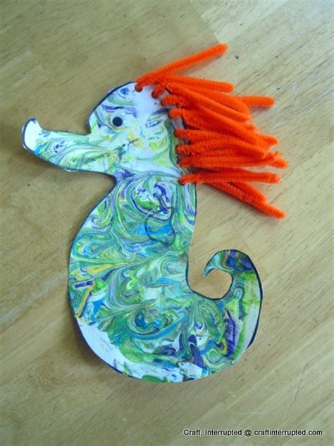 seahorse crafts for