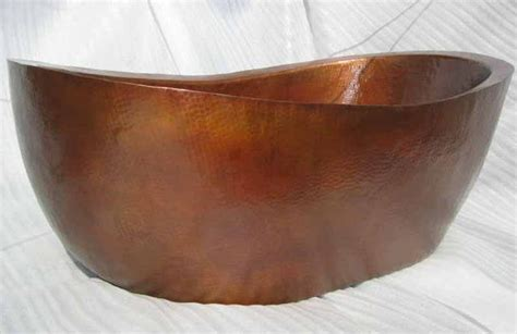 copper bathtub free standing copper bathtubs mexican copper bath tubs