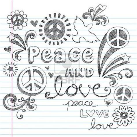 doodle elementos peace sketchy notebook doodles elementos de dise 241 o