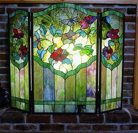 Stained Glass Fireplace Screens Sale by 322 Best Images About Stain Glass On Stains