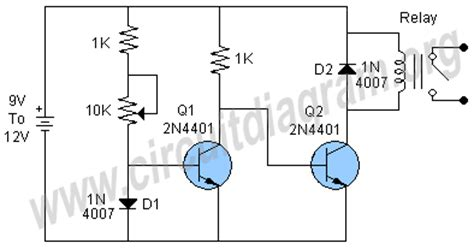 diode as thermal sensor temperature sensor using diode circuit diagram