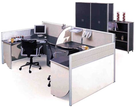Green Office Design Ideas And Concept Office Cubicle Desks