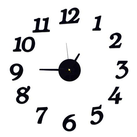 Unique Clocks aliexpress com buy free shipping 3d best home decoration