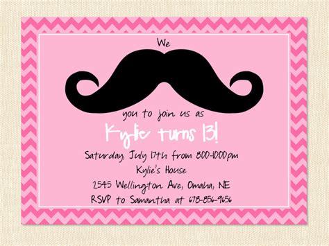 sle printable invitation cards teenage girl birthday invitation invitation card designs