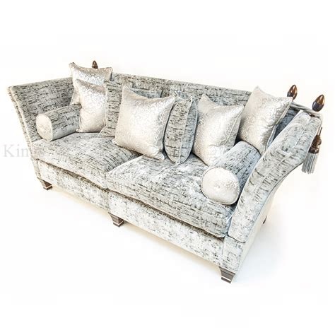 David Gundry Upholstery by David Gundry Upholstery Large Madrid Knole With Snuggler
