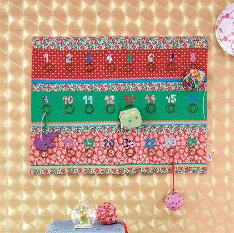 Patchwork Advent Calendar - patchwork fabric advent calendar by guild