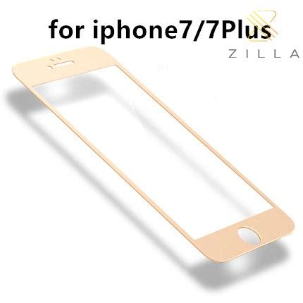 Iphone 7 Plus Tempered Warna Fiber zilla 3d carbon fiber tempered glass curved edge 9h for
