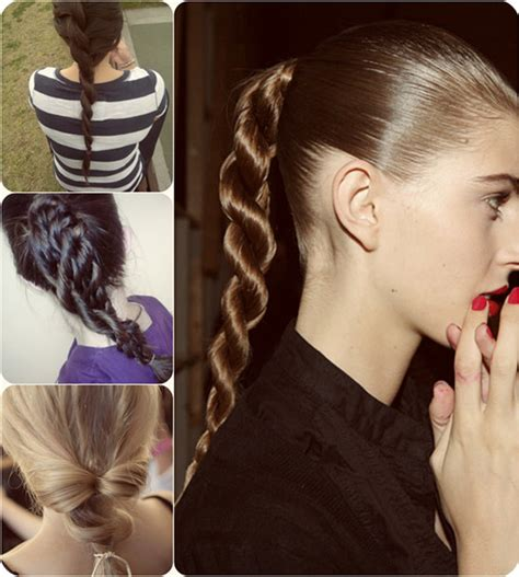 how to braid extensions into your hair 7 easy and chic ponytail hairstyle for back to