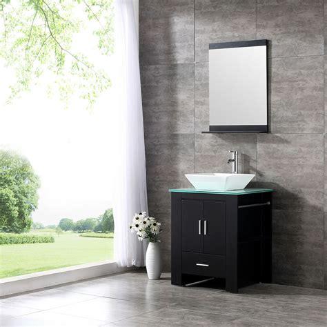 Bathroom Bowl Vanities by 24 Wood Bathroom Sink Vanity Cabinet Ceramic Bowl Modern