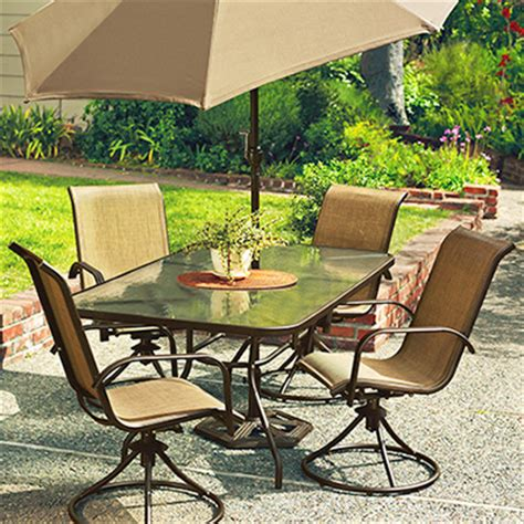Swivel Rocker Patio Dining Sets 5 Swivel Rocker Chair Patio Set True Value