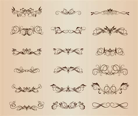 calligraphic design elements vector free download free calligraphic vectors design inspiration and art