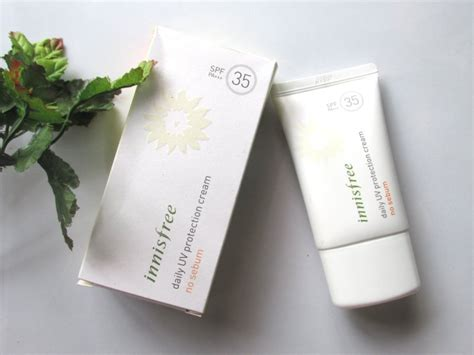 Harga Innisfree Daily Uv Protection No Sebum innisfree daily uv protection no sebum spf 35 pa