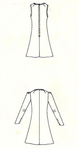 pattern vault yves saint laurent 1971 la collection du scandale
