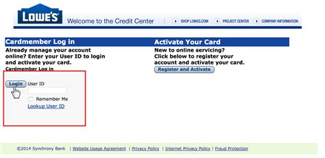 make a lowes credit card payment lowes credit card login accountxs