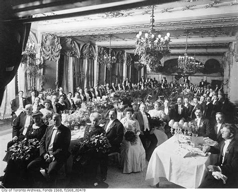 historical dinner a 1900s toronto photo extravaganza