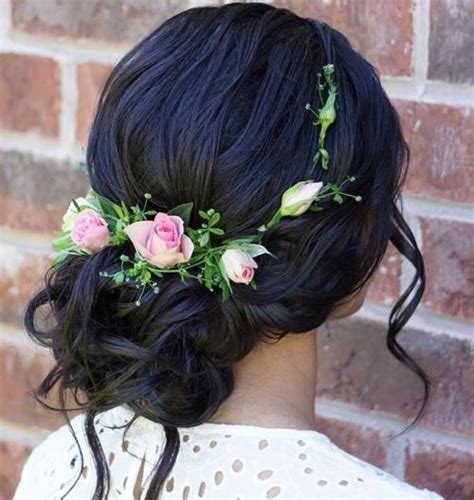 Wedding Updos With Flowers In Hair by 40 Chic Wedding Hair Updos For Brides