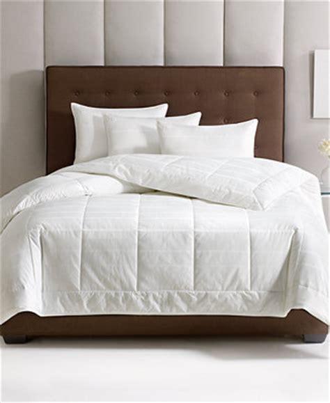 macys down comforter hotel collection primaloft all season down alternative