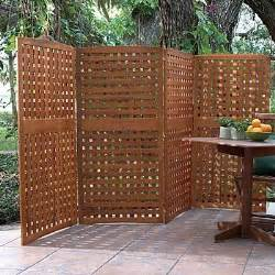 Outdoor Patio Privacy Screen by Best 25 Outdoor Privacy Screens Ideas On