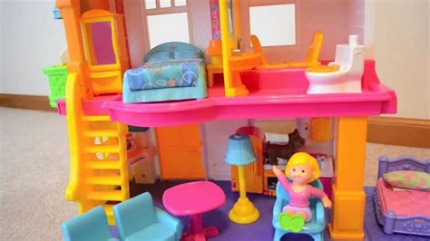fisherprice doll house fisher price my first dollhouse review youtube