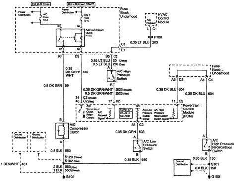 gm ac compressor wiring wiring diagram manual