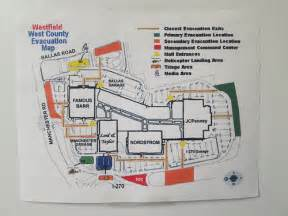 west county map west county mall evacuation map flickr photo