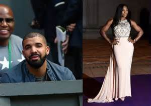 Serena williams dating drake according to south african publication