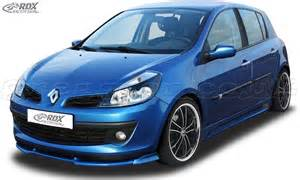 Renault Clio 3 Renault Clio 3 Phase 1 Not Rs Front Bumper Lip Spoiler