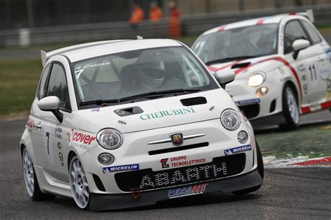 fiat 500 racing coldtrackdays