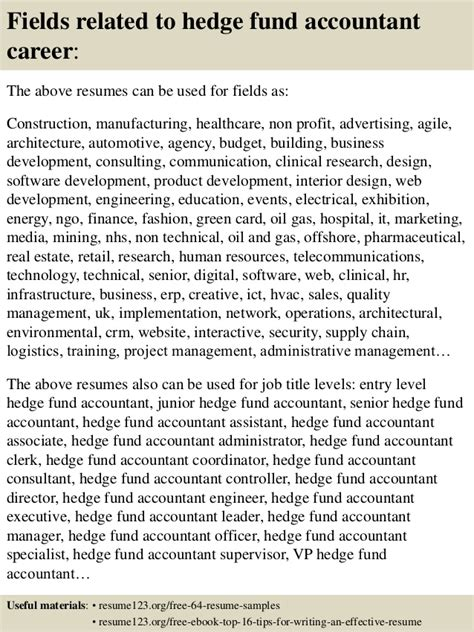 Hedge Fund Analyst Mba by Fund Accountant Resume Resume Ideas