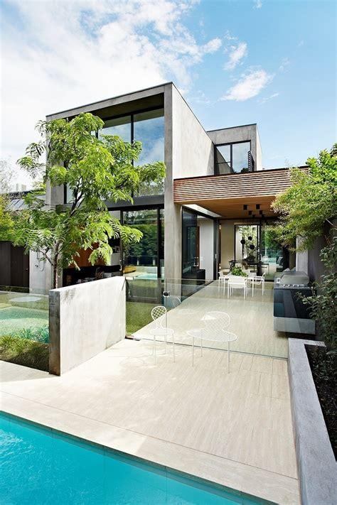 contemporary australian home architecture on yarra river oban house by agushi and david watson architect in south