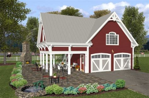 garage guest house plans outdoor living