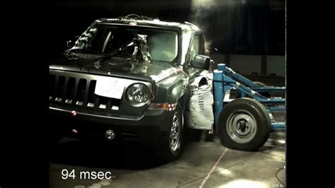 Jeep Patriot Crash Test 2014 Jeep Patriot Suv Barrier Crash Test