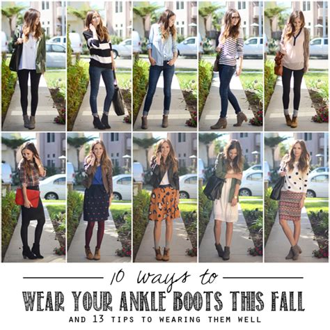 10 ways to wear ankle boots and 13 tips to wearing them well babble