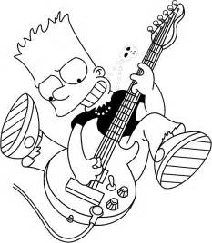 bart simpson images az coloriage