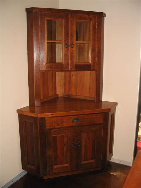 corner kitchen hutch furniture 14 best images about corner cabinet on country