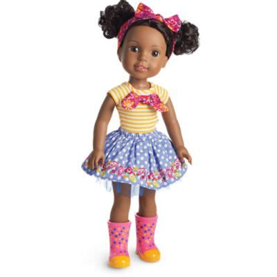 Girlset Doll kendall doll welliewishers american