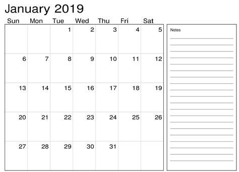 january  calendar   notes calendar  printable august calendar  calendar